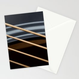 Guitar String Abstract 1 Stationery Cards