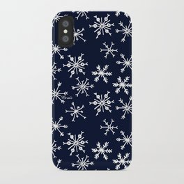 SOWFLAKES - BLUE iPhone Case