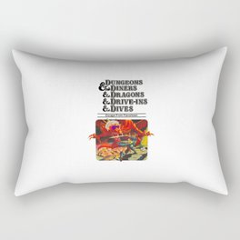 Escape from Flavortown - dungeons dragons Rectangular Pillow