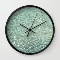 mercedes Wall Clocks featuring Shattered by RichCaspian