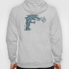 Dragon Letter F, from Dracoserific, a font full of Dragons. Hoody