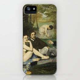 Edouard Manet - Luncheon On The Grass iPhone Case