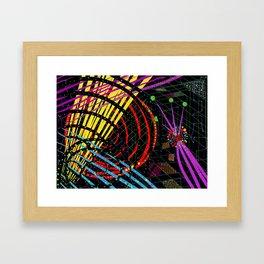 light bends Framed Art Print