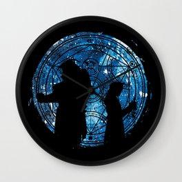 Alchemist of Silhouette Wall Clock
