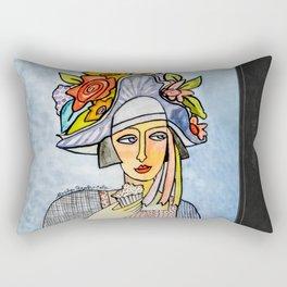 Couture Chapeau Rectangular Pillow