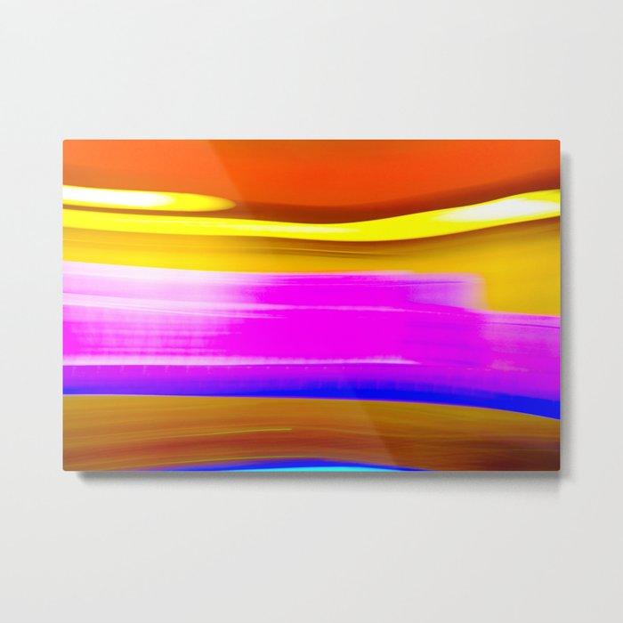 Abstrat colors Metal Print