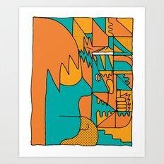 Study no. 2 Art Print