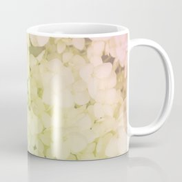 Rainbow colored hydrangea Coffee Mug