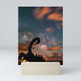 Milky Way over Scorpion, Borrego Springs, CA Mini Art Print