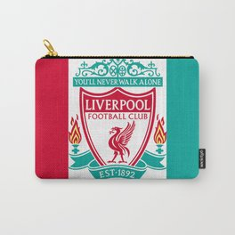 Liverpool Flat Design Carry-All Pouch