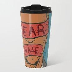 The Fear Hate Factor Travel Mug
