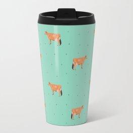 Jerseys // Green & Teal Travel Mug