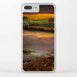 Porth Wen Brickworks Sunset Clear iPhone Case