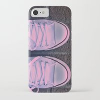 converse iPhone & iPod Cases featuring Converse by KING CHRISTOPHER