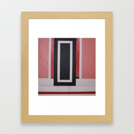 THE SHIVER DOOR Framed Art Print