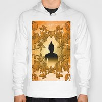 buddhism Hoodies featuring Buddha  by nicky2342
