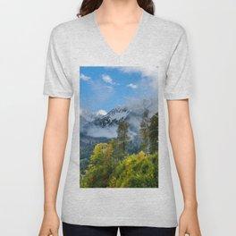 Mount Fisht Unisex V-Neck