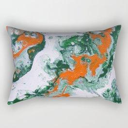 Carnival Squash Abstract Rectangular Pillow