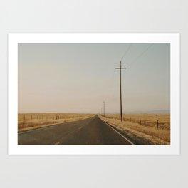 California Country Road Art Print