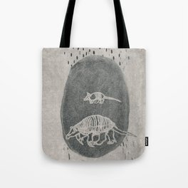 Armadillo Aqua Tote Bag