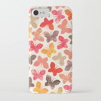 karu kara iPhone & iPod Cases featuring BUTTERFLY SEASON by Daisy Beatrice