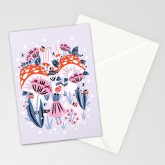 Alice in Winterland Stationery Cards