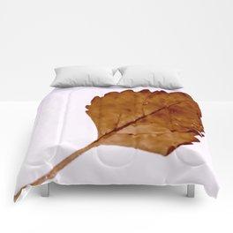 Be Like A Leaf #2 Comforters