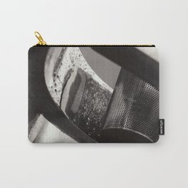 Droplets on Metal Carry-All Pouch