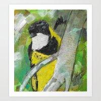 Golden Warbler Art Print