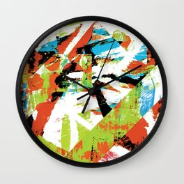 Life Flows On Within You And Without You Wall Clock