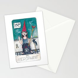 The Solipsist Tarot | V - The Hierophant Stationery Cards