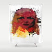 blondie Shower Curtains featuring Debbie Harry - Blondie by 2b2dornot2b