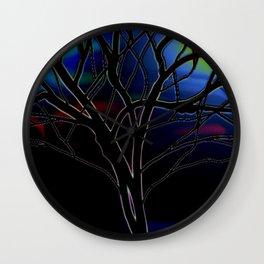 Ghost Tree Wall Clock