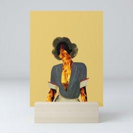 Burn Mini Art Print