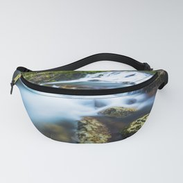 High motion waterfall Fanny Pack
