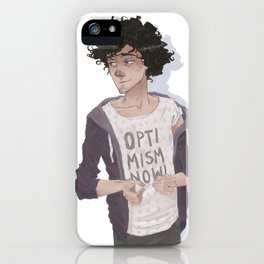 R the optimist iPhone Case