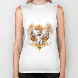 Potter Hedwig Owl Biker Tank