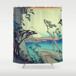 At the Border of Hennin Shower Curtain