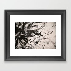 LOSSY Framed Art Print