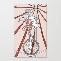 Flea Circus Canvas Print