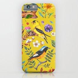 Birds nature - YBG iPhone Case