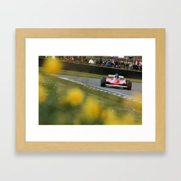312 T5 through the Daffodils Framed Art Print