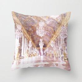 Palace Ballroom Throw Pillow