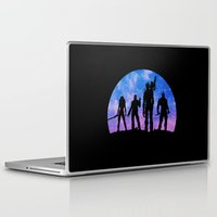 guardians of the galaxy Laptop & iPad Skins featuring Guardians of the Galaxy - Color by Comix