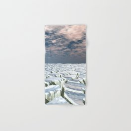 Fragmented Landscape Hand & Bath Towel