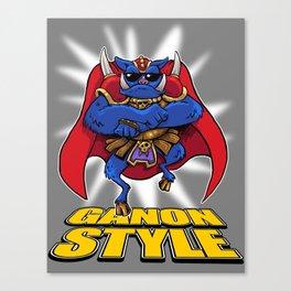 oppa ganon style Canvas Print