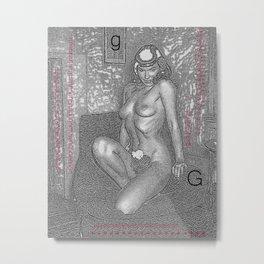 nnnnnnnnnnnnnGnnnn Metal Print