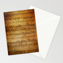 Yesterday's Music Stationery Cards