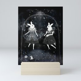 weird sisters Mini Art Print