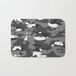 Military Camouflage: Urban II Bath Mat